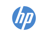 logo of hp - our custom design client