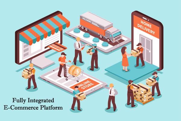 Fully Integrated E-commerce platform